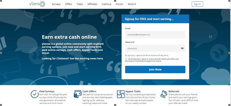 ySense Review - Portal