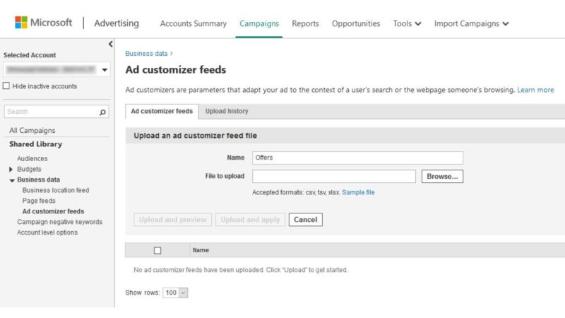 Ad Customizer by Audience